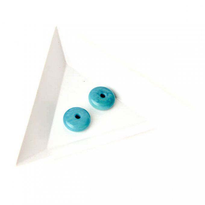 Pastille 10mm turquoise
